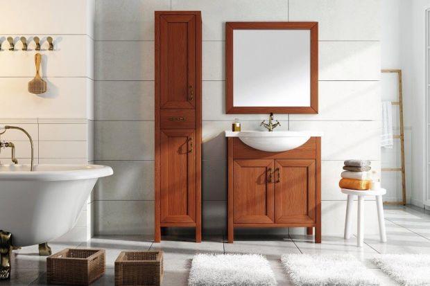 <br />W ofercie producentów wyposażenia łazienki znajdziemy piękne meble w różnych wykończeniach. Fronty kolorowe, białe, lub stylizowane na naturalne drewno będą pięknie zdobić naszą łazienkę.