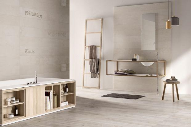 Wyznaczniki popularnego stylu lofttooszczędność form, chłodne kolory i minimalizm. Ważną rolę w łazienkach w takim klimacie odgrywają okładziny ścian. Szare płytki ceramiczne to bez wątpienia idealne tło.