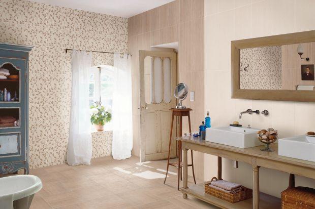 Łazienkowa moda zapaliła światło dla płytek ceramicznych z wzorami zastrzeżonymi dotąd dla tkanin. W tym trendzie najważniejsza jest przytulna faktura!
