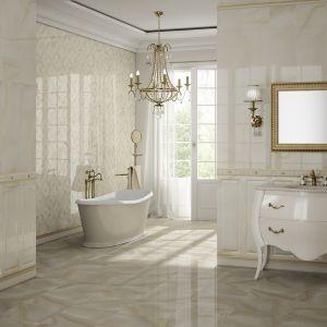 W stylu pałacowych wnętrz - płytki ceramiczne jak boazeria Beyond firmy Aparici. Fot. Aparici