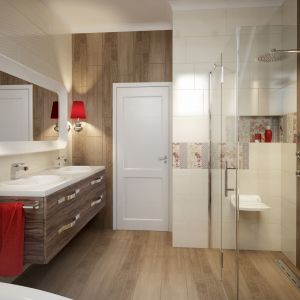 Składane siedzisko przyścienne Vital Deante ułatwia kąpiel pod prysznicem osobom starszym, niepełnosprawnych oraz rekonwalescentom. Fot. Deante