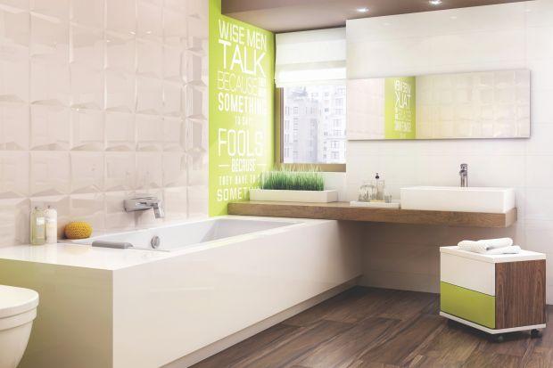 Płytki z dekorami – pomysły na ścianę łazienki