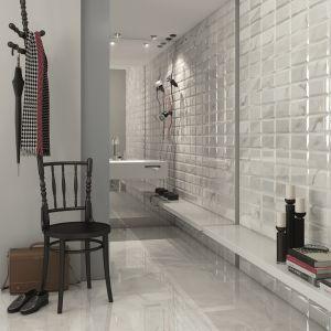 W kolorze białego marmuru - płytki ceramiczne Wilson Bianco firmy Vives Ceramica. Fot. Vives Ceramica