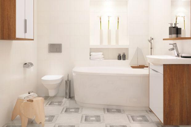 To kolor wyjątkowy! Biel pasuje do łazienek w każdym stylu. Małe toalety – powiększa. Dlatego białe płytki ceramiczne to pomysł do małych pomieszczeń. Tak wykończone łazienki zawsze wydają się większe.