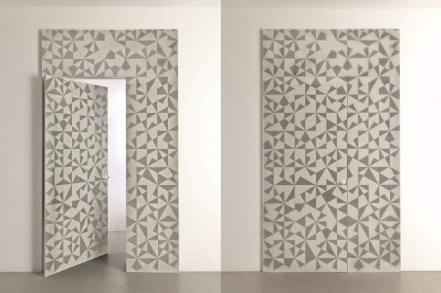 Drzwi do łazienki, zwłaszcza w sypialni, mogą być oryginalną dekoracją. Oto nowości do wnetrz eleganckich i luksusowych: system okładzin Boise i drzwi Prima marki Albed.