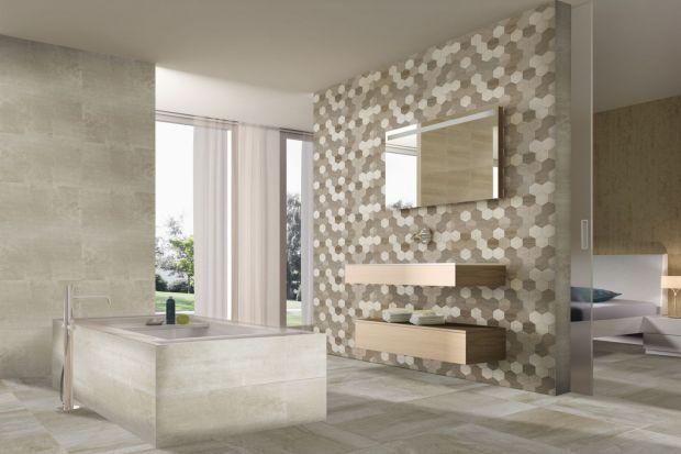 Absolutnym hitem dwóch ostatnich sezonów są płytki heksagonalne. Zainspirowane plastrem miody dodadzą dramatyzmu każdej łazience.