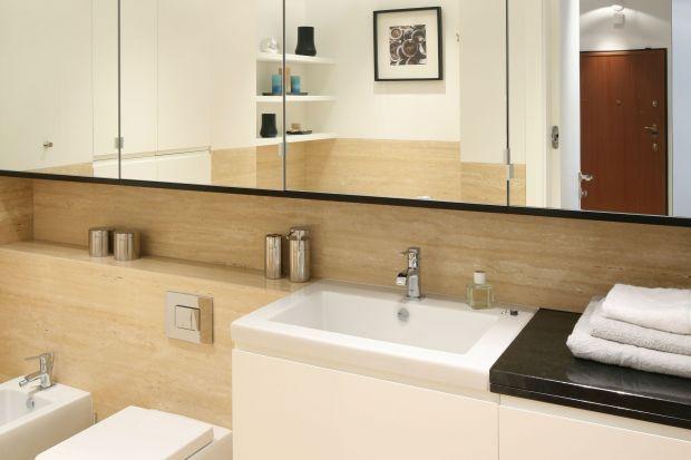 W łazience - najczęściej na styku urządzeń sanitarnych - mogą tworzyć się czarne naloty. Przeczytajcie poradę eksperta, jak temu zapobiec.