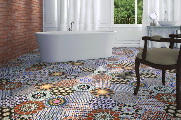 Podłoga w łazience: wybierz patchworkowe płytki