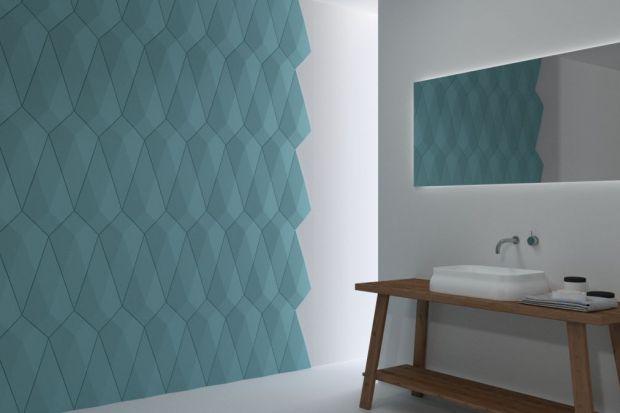 Istnieje wiele sposobów na dekorację ściany w łazience. Głębie i charakter pomieszczeniu nadadzą panele ścienne z efektem 3D.