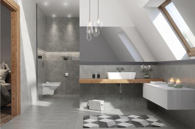 Szukasz inspiracji do urządzenia łazienki? Wybierz beton i kamień