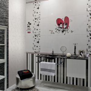 Płytki ceramiczne z serii Classic Mickey. Fot. Azteca Ceramica