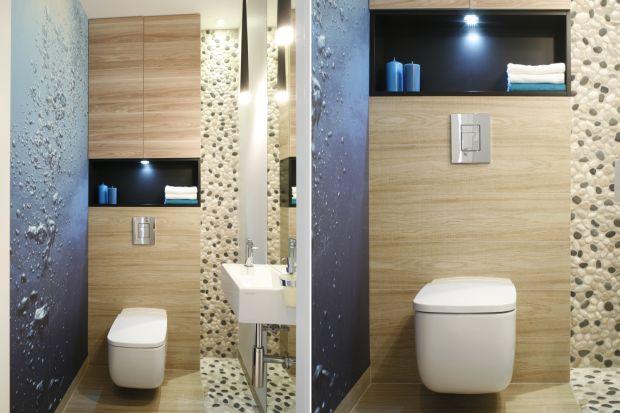 Toaleta dla gości to taka sama wizytówka domu, jak salon czy otwarta kuchnia. Zobaczcie, jak pomysłowo ją urządzić!
