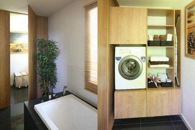 Pralka w łazience: 10 praktycznych pomysłów