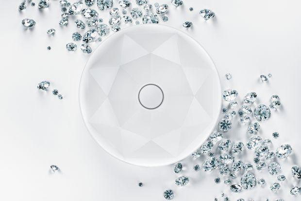 Umywalki jak dzieła sztuki - zobacz, co można stworzyć z innowacyjnego materiału