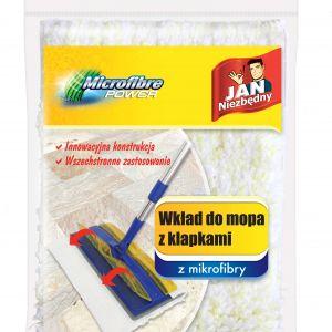 Wkład z mikrofibry do mopa z klapkami; cena: ok. 17,50 zł. Fot. Jan Niezbędny