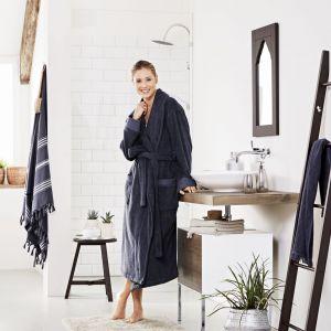 Firma Tchibo przygotowała kolekcję, w której skład wchodzą m.in. tekstylia łazienkowe, akcesoria i kosmetyki, które pozwolą stworzyć w łazience klimat i wygodę typowe dla tureckiej łaźni. Fot. Tchibo