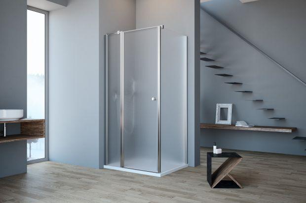 Strefa prysznica: dekoracyjne szkło ornamentowe