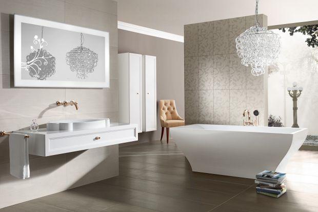 Delikatne zdobienia, kwiatowe ornamenty, zmysłowe kształty – wnętrze też może mieć romantyczny charakter!Zobaczcie piękną łazienkową kolekcję w stylu glamour.