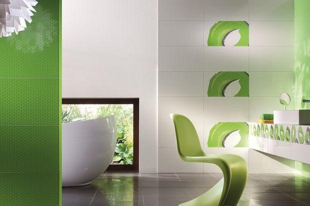 Najbliższe 12 miesięcy będzie należało do koloru zielonego – zarówno w modzie, designie, jak i architekturze. Zobaczcie, jak wprowadzić go do łazienki za pomocą płytek.