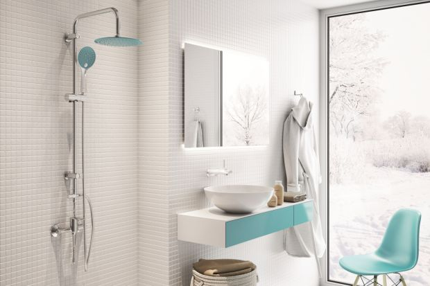 Kolorowe w łazience mogą być nie tylko płytki czy meble, ale również... armatura łazienkowa. Zobaczcie sami!