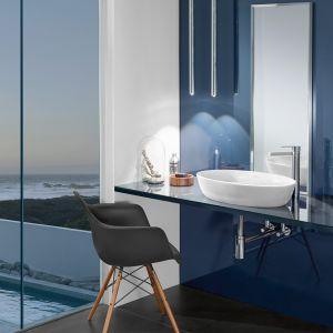 Elegancka nablatowa umywalka Artis o delikatnej, eliptycznie formie, wykonana z materiału TitanCeram marki Villeroy & Boch. Fot. Villeroy & Boch