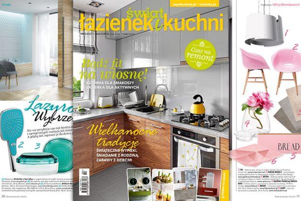 Nowy numer Świata Łazienek i Kuchni (2/2017) właśnie ukazał się na rynku.