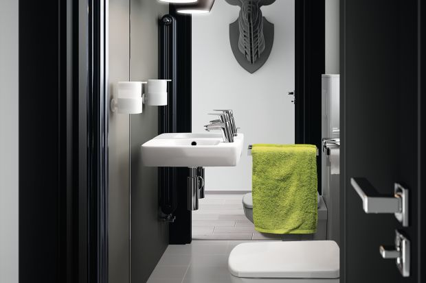 Toaleta dla gości to jedno z najbardziej reprezentacyjnych pomieszczeń w domu. Jak ją urządzić radzi arch. Małgorzata Brewczyńska.