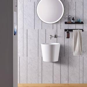 Nowa gama designerskich umywalek Scopio. Fot. Alape