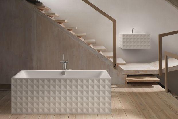 Płytki 3D cieszą się coraz większą popularnością, jednak osiągnąć przestrzenny efekt w łazience możemy również sięgając po inne elementy jej wyposażenia. Zobaczcie jakie!