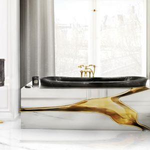 Lapiaz to francuska nazwa nadana krasowym formacjom skalnym, które były inspiracją do projektu wanny o tej samej nazwie. Fot. Maison Valentina