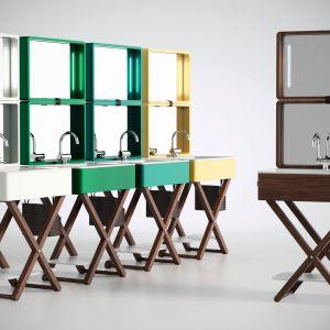 """Zaprojektowana przez Gianlucę Paludiego kolekcja MY.BAG zainspirowana jest współczesnym stylem życia """"na walizkach"""". Fot. Olympia Ceramia"""