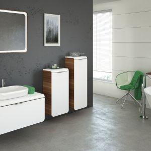 Meble łazienkowe z serii Mocca firmy Devo. Fot. Devo, www.devo.pl