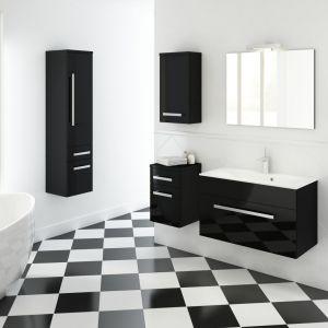 Meble łazienkowe na wysoki połysk z kolekcji Olex marki Defra. Fot. Defra
