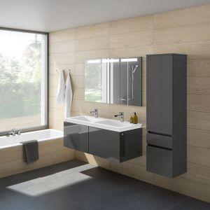 Meble łazienkowe na wysoki połysk z kolekcji Legato marki Villeroy & Boch. Fot. Villeroy & Boch