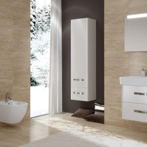 Meble łazienkowe na wysoki połysk z kolekcji Urban Harmony marki Opoczno. Fot. Opoczno