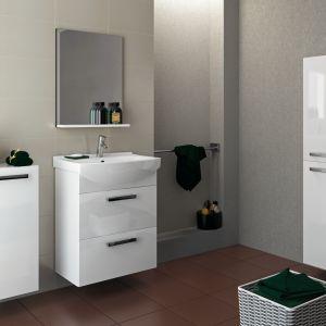Meble łazienkowe na wysoki połysk z kolekcji Mellar marki Cersanit. Fot. Cersanit