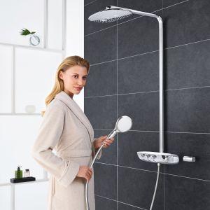 Zestaw prysznicowy Grohe SmartControl z termostatem. Fot. Grohe