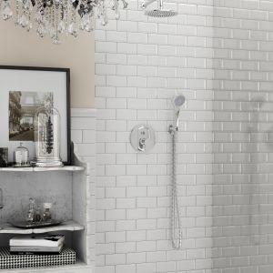 Aranżacja łazienki w stylu francuskim z armaturą Ferro. Fot. Ferro