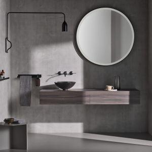 Okrągłe lustro z serii Design Mirrors. Fot. Alape