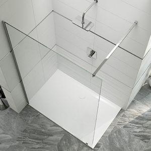 Parawan prysznicowy ze wspornikiem PIII/ALTIIa. Fot. Sanplast