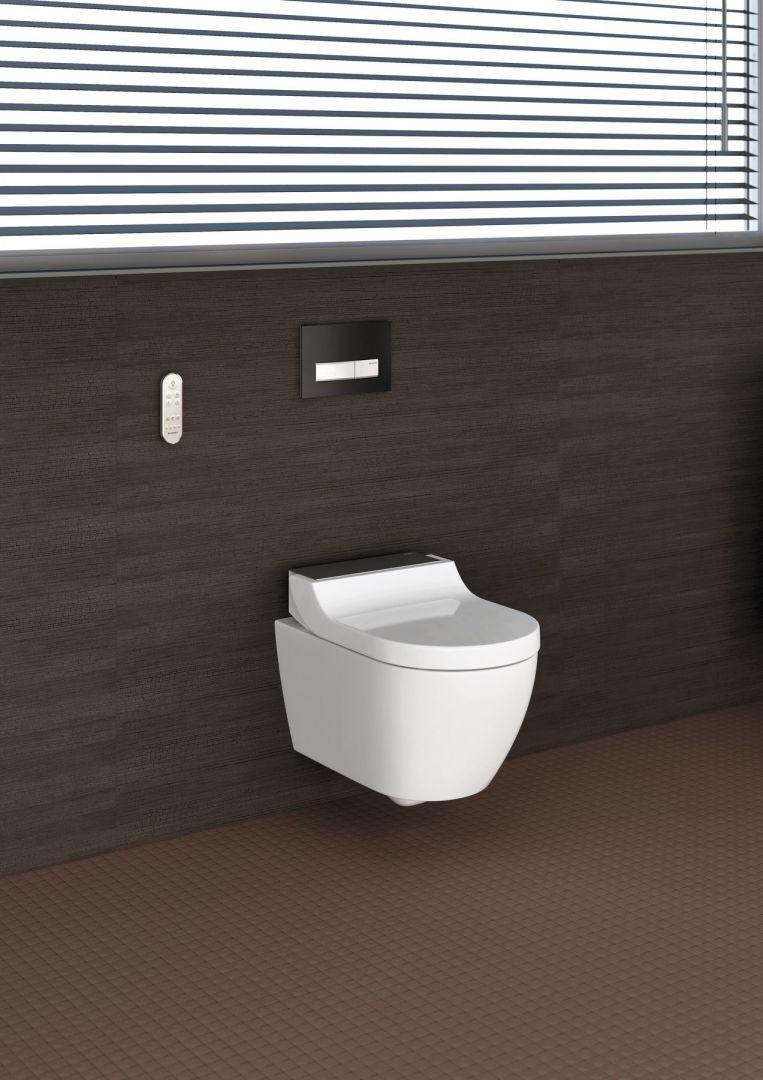 Toaleta myjąca Geberit AquaClean Tuma oferuje zaskakująco wiele możliwości aranżacji każdej łazienki. Fot. Geberit