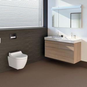 Model Geberit AquaClean Tuma oferuje wyjątkowo wiele możliwości do zastosowania w każdej łazience. Fot. Geberit