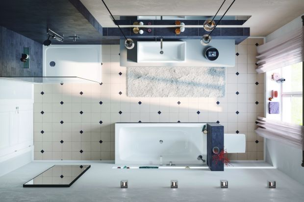 Łazienka dla rodziny: nowy model dwuosobowej wanny