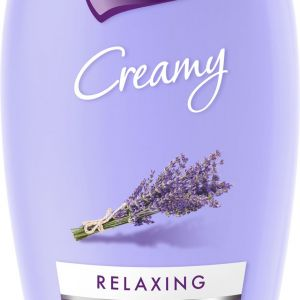 Luksja Creamy Relaxing Lavender to żel pod prysznic z naturalnym wyciągiemzlawendy, który pomaga zapobiegać wysuszaniu skóry oraz ma właściwości relaksujące. Cena: 5,99 zł. Fot. Luksja