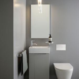 Podwieszana miska WC  z technologią Rimless marki Laufen. Fot. Laufen
