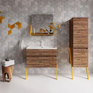 Meble łazienkowe z kolekcji Op-Arty marki Defra. Fot Defra