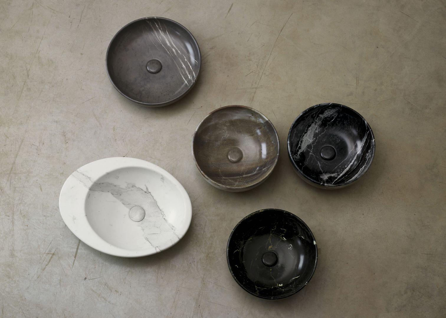 Kolekcja 5 wykończeń imitujących kamień LePietre. Fot. Cielo