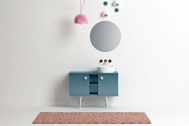 Vintage'owa forma, pastelowe kolory i urokliwe ceramiczne uchwyty - tak wygląda nowa propozycja konsoli od włoskiej marki.