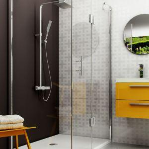 Zestaw prysznicowy z deszczownią Abelia. Fot. Deante