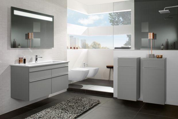 Szarość chyba nigdy nie wyjdzie z mody. Dziś przedstawiamy Wam propozycje mebli łazienkowych w tym ponadczasowym kolorze.